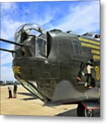 Witchcraft Wwii Bomber Metal Print