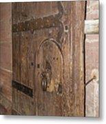 Witches Bite Door Heidelberg Castle Metal Print