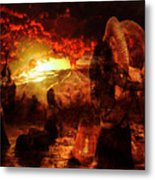 Witches Metal Print