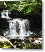 With A Full Heart Metal Print