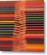 With Design Elements In Rows Metal Print