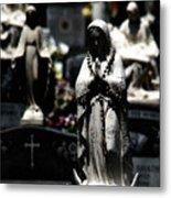 With Every Bead A Prayer Metal Print