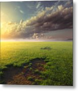 With Joy Fulfilled  Metal Print