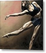 With Strength And Grace Metal Print by Richard Young