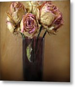 Withered Beauty Metal Print