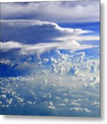 Within Clouds Metal Print