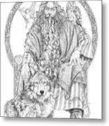 Wizard IIi - The Family Portrait Metal Print