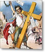 W.j. Bryan: Cross Of Gold Metal Print
