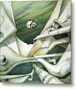 Wl1989dc002 Planeta De La Paz No.2 26 X 37.9 Metal Print