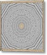 Wodden Sacred Popart Metal Print