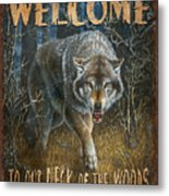 Wold Neck Of The Woods Metal Print by JQ Licensing
