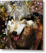 Wolf Art Version 8 Metal Print