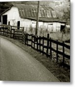 Wolf Creek Road Metal Print