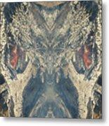 Wolf Spider Metal Print