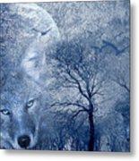 Wolf Metal Print by Svetlana Sewell