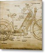 Wolfmueller Motor Cycle 1894 Metal Print
