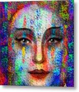 Woman 395 Metal Print