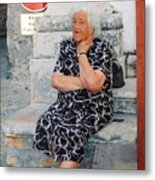 Woman At Rest Metal Print
