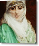 Woman From Constantinople Metal Print