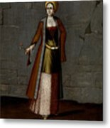 Woman From Tinos Metal Print