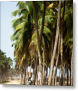 Woman In Ouidah I Metal Print