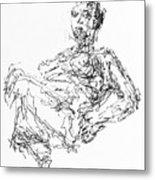 Woman In Repose 4483 Metal Print