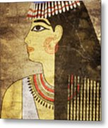 Woman Of Ancient Egypt Metal Print