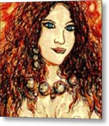 Woman Of Desire Metal Print