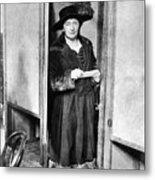 Woman: Voting, 1920 Metal Print