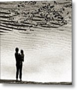 Woman With Child  Metal Print