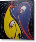 Woman21 Metal Print
