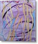 Women Figure Metal Print