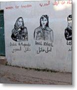 Women For Freedom Metal Print