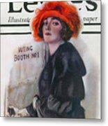 Women Voting, 1920 Metal Print
