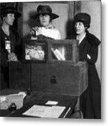 Women Voting, C1917 Metal Print