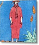 Womens Fashion, George Barbier, 1921 Metal Print