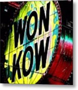 Won Kow, Wow 3 Metal Print