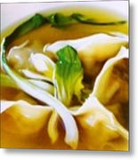 Won Ton Metal Print