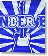 Wonder Bar - Sign Metal Print