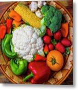Wonderful Fresh Vegetables Metal Print