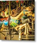 Wonderful Horse Ride Metal Print