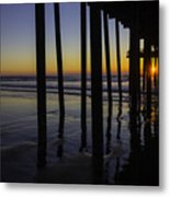 Wonderful Pismo Sunset Metal Print