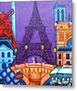 Wonders of Paris Metal Print
