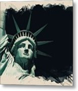 Wonders Of The Worlds - Lady Liberty Of New York 2 Metal Print