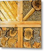 Insect Hotel #1 Metal Print