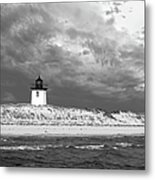 Wood End Lighthouse Provincetown Metal Print