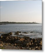 Wood Island Lighthouse 1 Metal Print