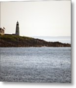 Wood Island Lighthouse 2 Metal Print