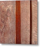 Wood No 3 Metal Print