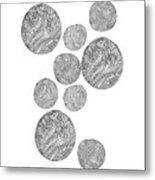 Wood Print Vertical Metal Print